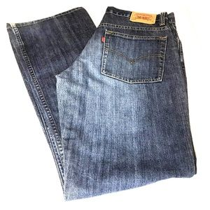 Levi's 515 boot cut lower rise  size 8